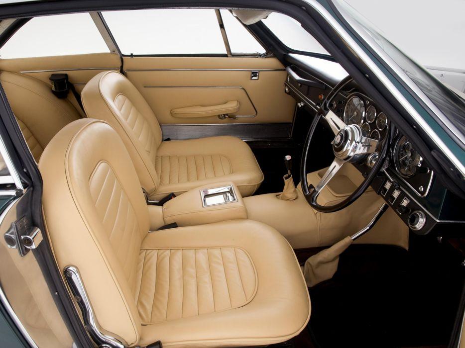 1962-65 Maserati 3500 GTi Sebring (AM101) classic interior     f wallpaper