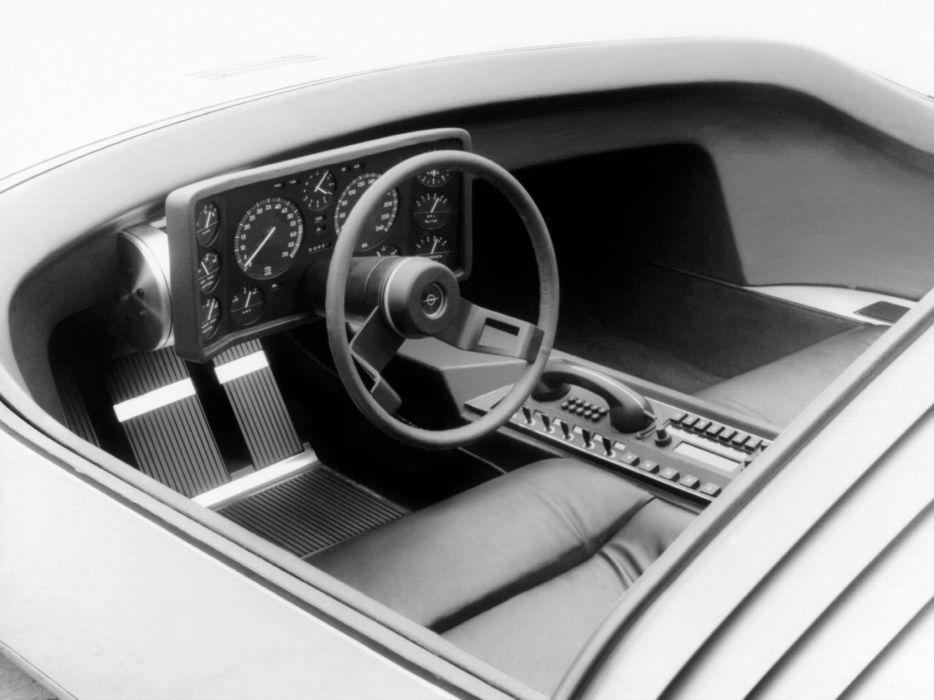 1969 Opel C-D Concept supercar classic interior      g wallpaper