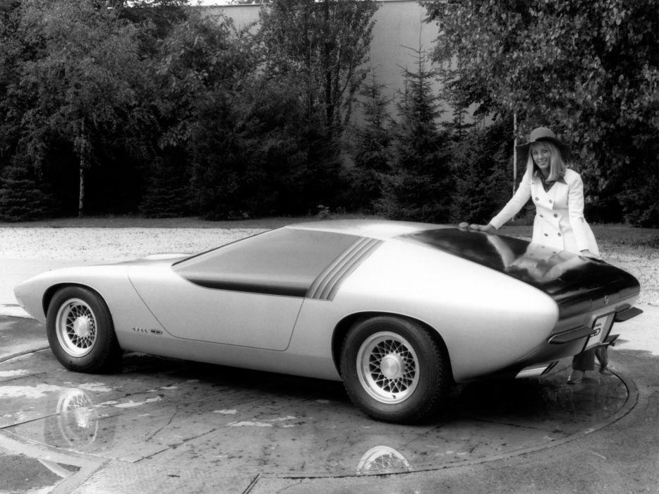 1969 Opel C-D Concept supercar classic  f wallpaper