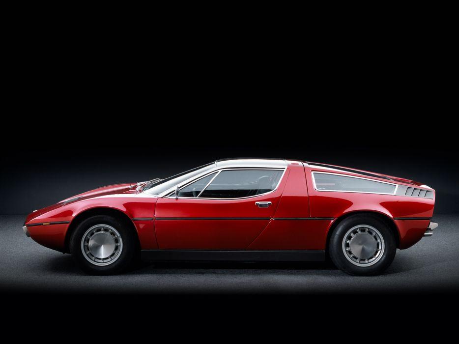 1971-78 Maserati Bora (AM117) supercar classic e wallpaper