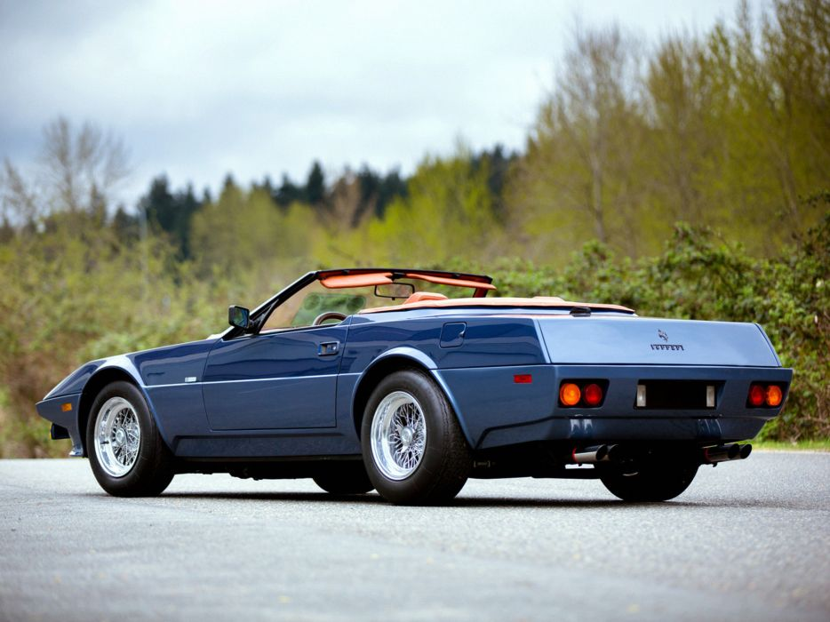 1972 Ferrari 365 GTS4 Nart Spider supercar  t wallpaper