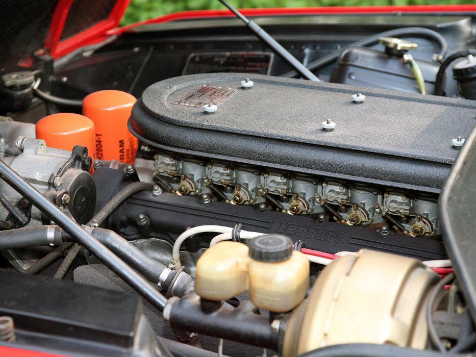 1972 Ferrari 365 GTS4 Nart Spider supercar engine    g wallpaper