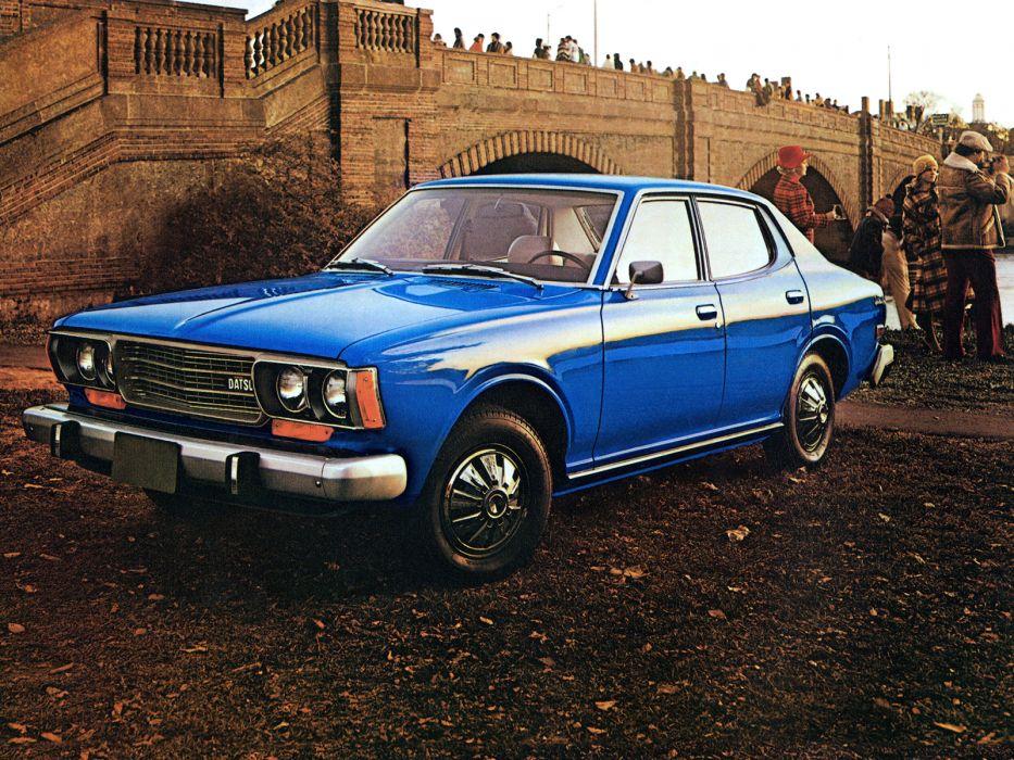 1975 Datsun 610 4-door Sedan     f wallpaper