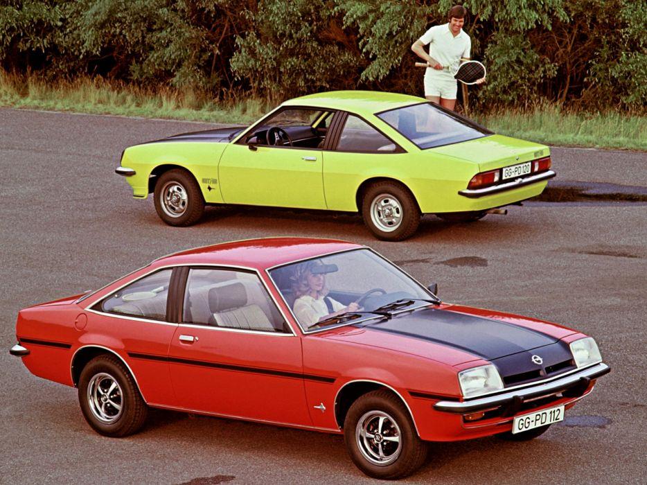 1975-88 Opel Manta (B) v wallpaper