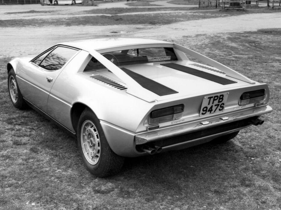 1976 Maserati Merak S-S UK-spec (AM112) supercar        g wallpaper