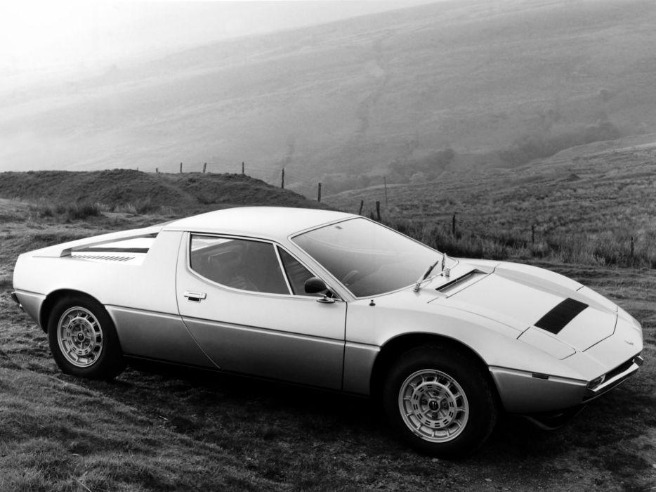 1976 Maserati Merak S-S UK-spec (AM112) supercar n wallpaper