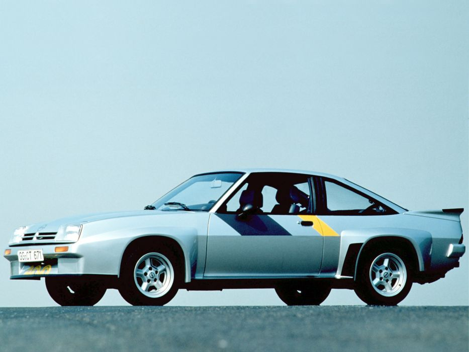 1980-84 Opel Manta 400 (B) race racing        h wallpaper