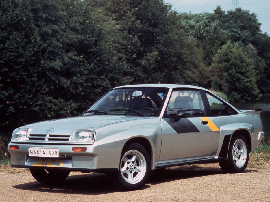 1980-84 Opel Manta 400 (B) race racing   g wallpaper