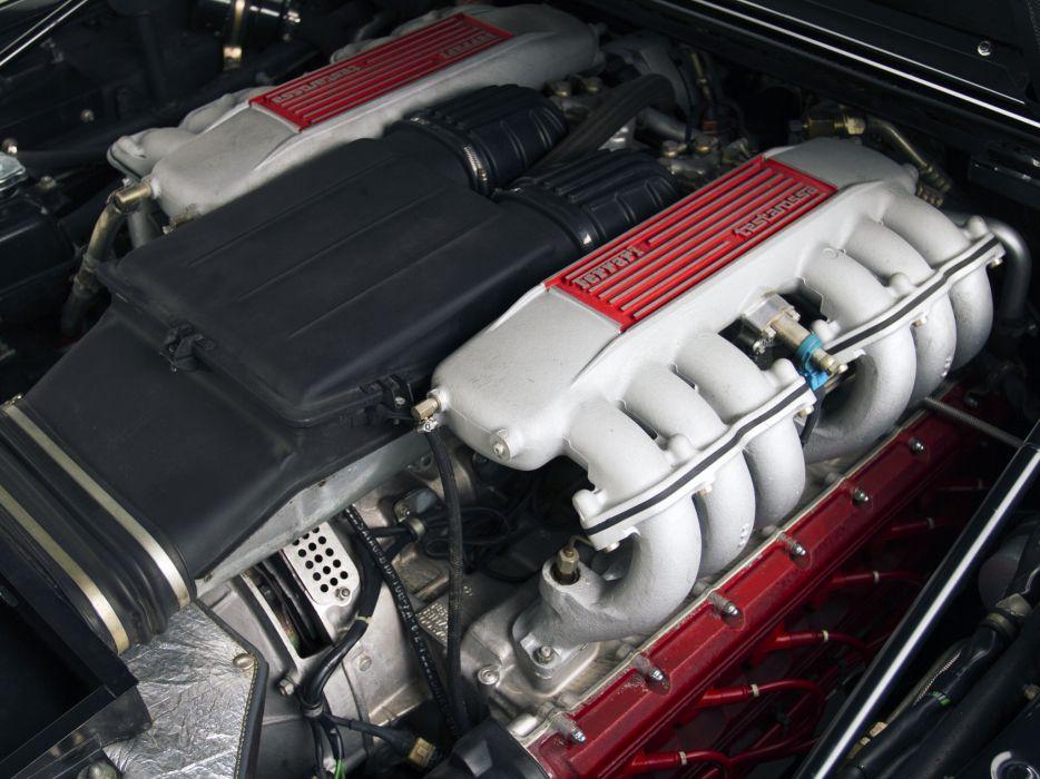 1986 Ferrari Testarossa Spider supercar engine      h wallpaper