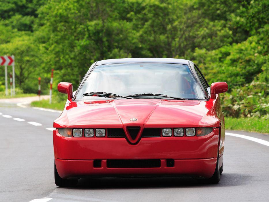1989-91 Alfa Romeo S-Z_ (162C) supercar   g wallpaper