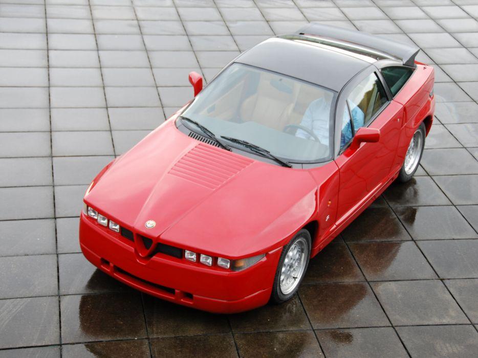1989-91 Alfa Romeo S-Z_ (162C) supercar e wallpaper