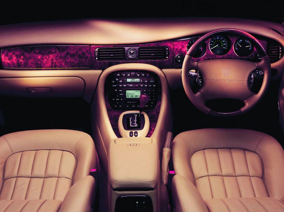 1997-03 Jaguar X-J Sport (X308) luxury interior      g wallpaper