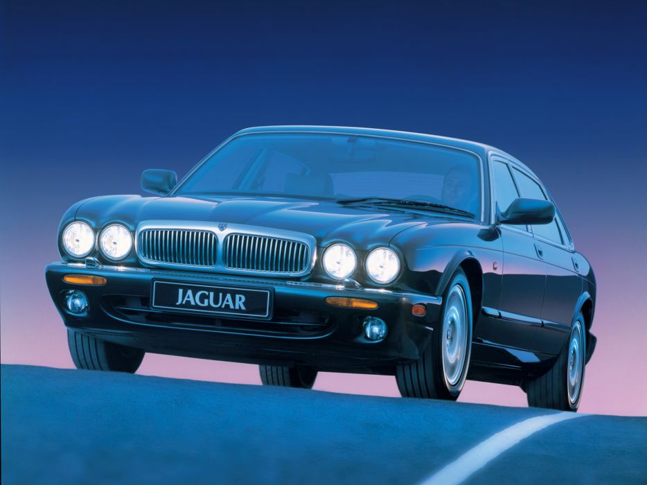 1997-03 Jaguar XJ8 (X300) luxury  e wallpaper