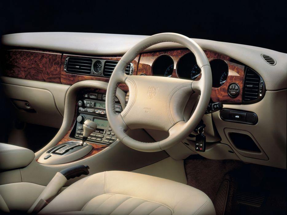 1997-03 Jaguar XJ8 (X300) luxury interior      g wallpaper