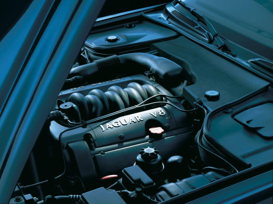 1997-03 Jaguar XJ8 (X300) luxury engine      g wallpaper