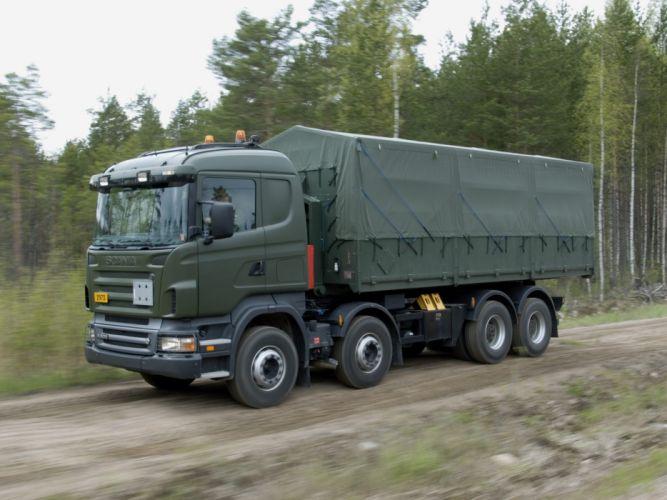 2004-09 Scania R500 8x4 HZ semi tractor h-z f wallpaper