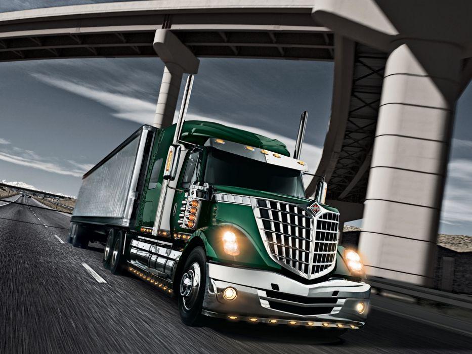 2008 International LoneStar semi tractor f wallpaper