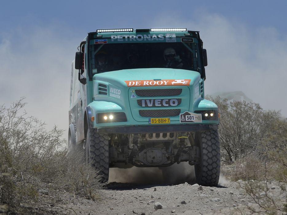 2012 Iveco PowerStar Evolution 4x4 offroad dakar race racing semi tractor      g wallpaper
