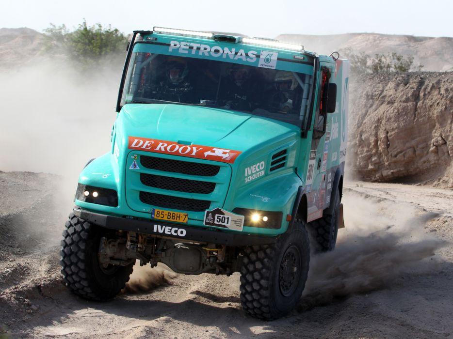2012 Iveco PowerStar Evolution 4x4 offroad dakar race racing semi tractor  jf wallpaper