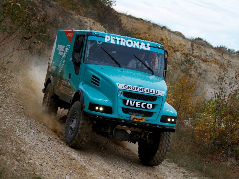 2012 Iveco PowerStar Evolution 4x4 offroad dakar race racing semi tractor j wallpaper