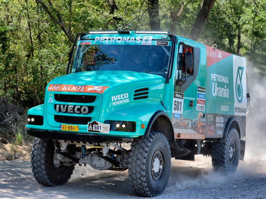 2012 Iveco PowerStar Evolution 4x4 offroad dakar race racing semi tractor h wallpaper