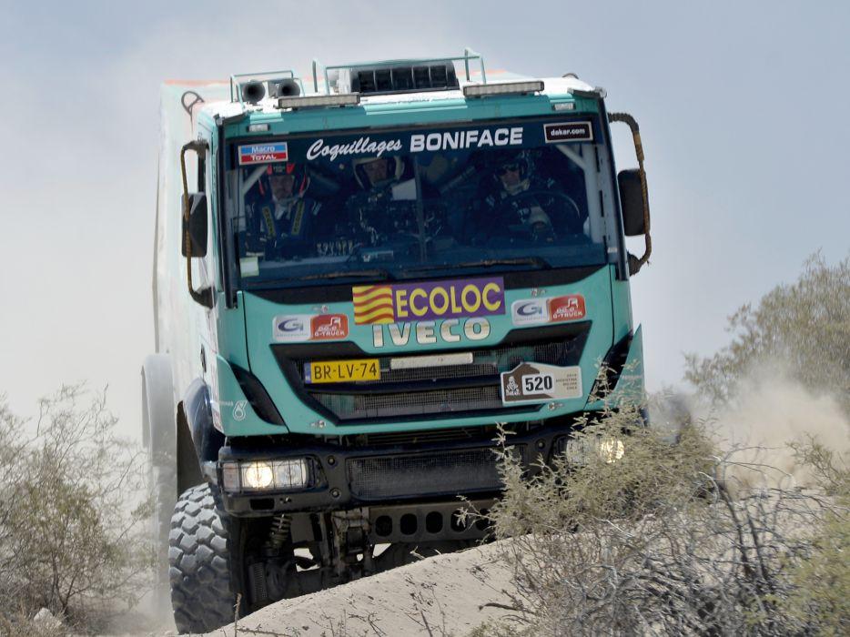 2012 Iveco Trakker Evolution III 4x4 offroad dakar racing race semi tractor z wallpaper