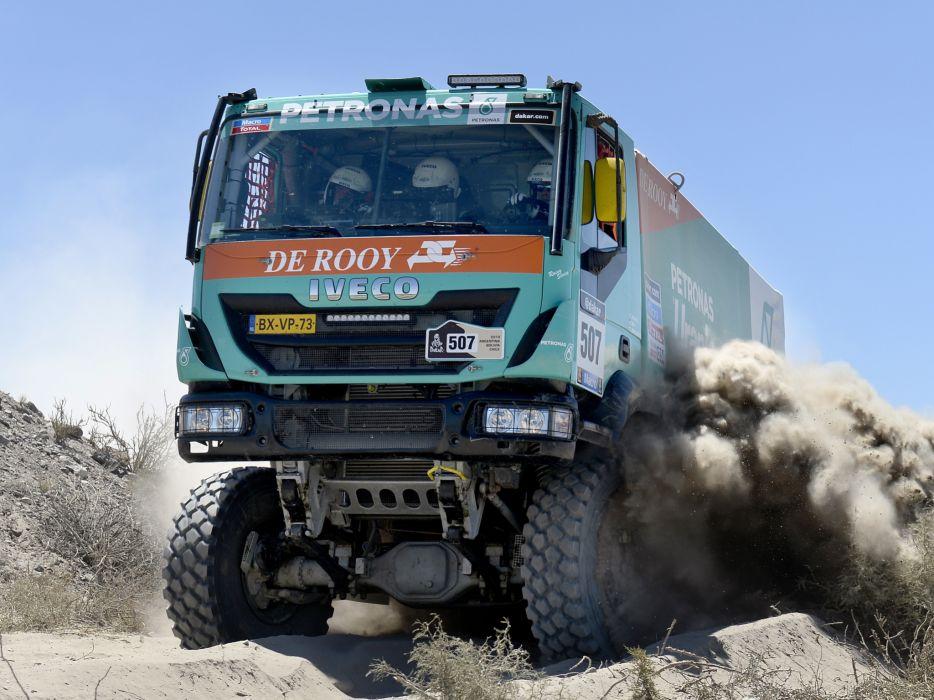 2012 Iveco Trakker Evolution III 4x4 offroad dakar racing race semi tractor y wallpaper