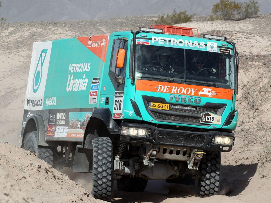 2012 Iveco Trakker Evolution III 4x4 offroad dakar racing race semi tractor t wallpaper