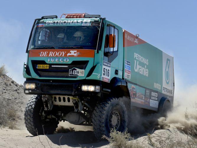 2012 Iveco Trakker Evolution III 4x4 offroad dakar racing race semi tractor v wallpaper