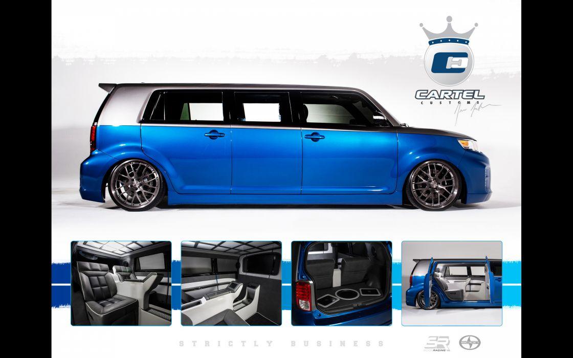 2013 Cartel-Customs Scion xB van suv tuning x-b   d wallpaper