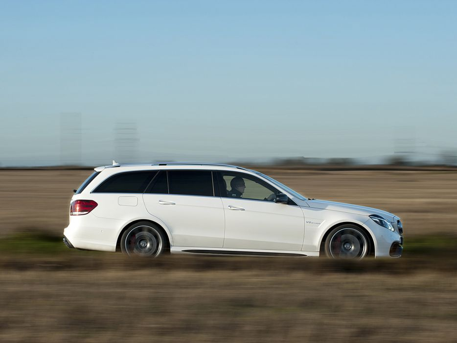 2013 Mercedes Benz E63 AMG S-Model Estate UK-spec (S212) stationwagon 5 wallpaper