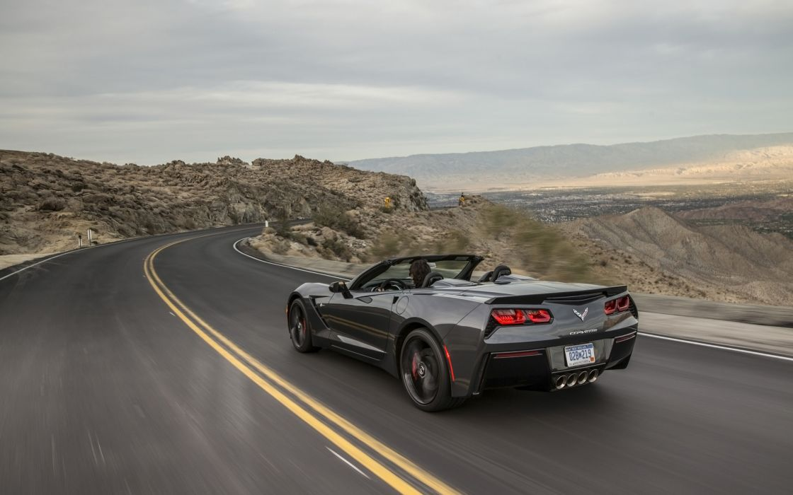 2014 Chevrolet Corvette Stingray Convertible supercar muscle   r wallpaper