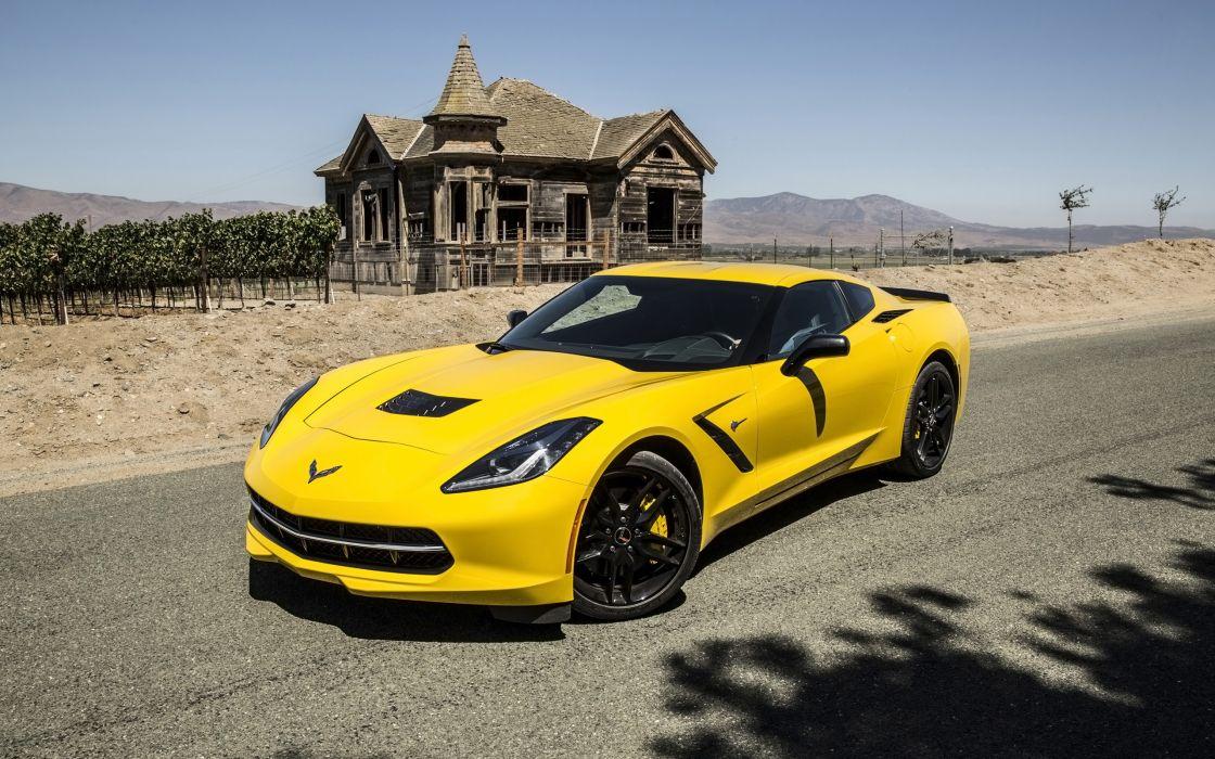 2014 Chevrolet Corvette Stingray supercar muscle    h wallpaper