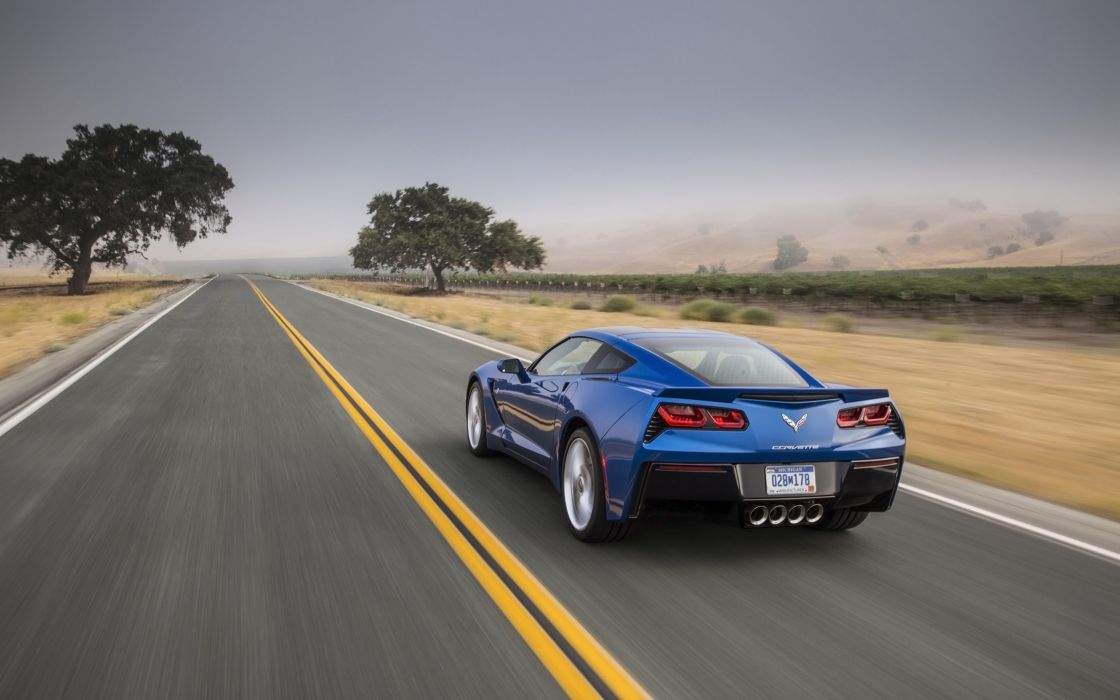 2014 Chevrolet Corvette Stingray supercar muscle   e wallpaper