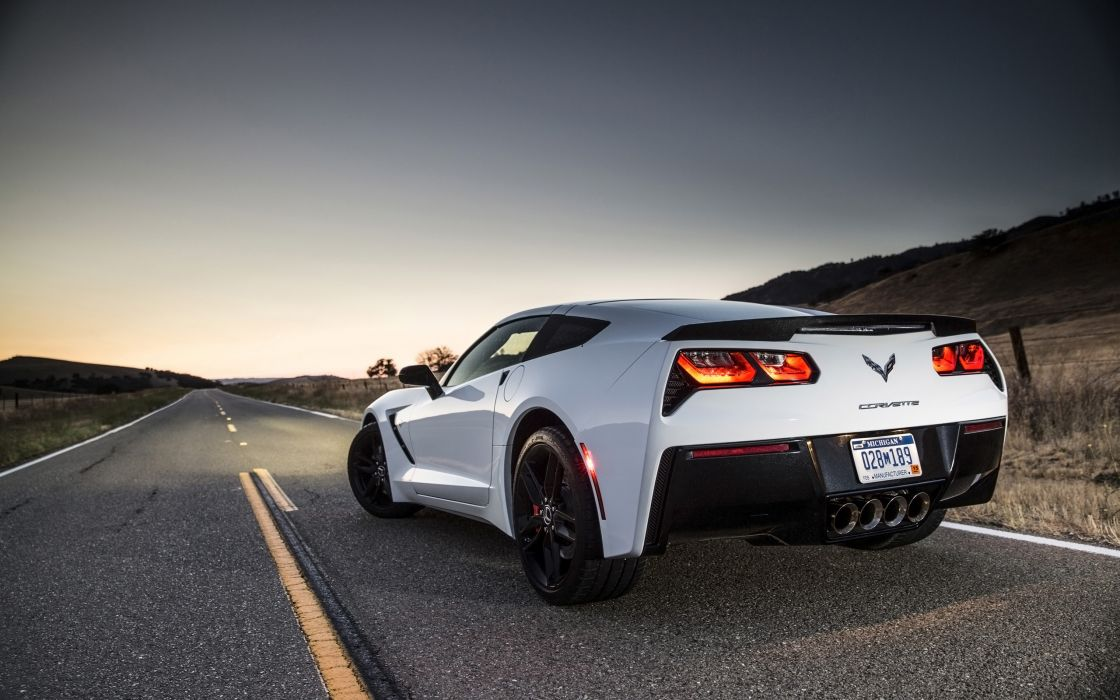 2014 Chevrolet Corvette Stingray supercar muscle   ej wallpaper