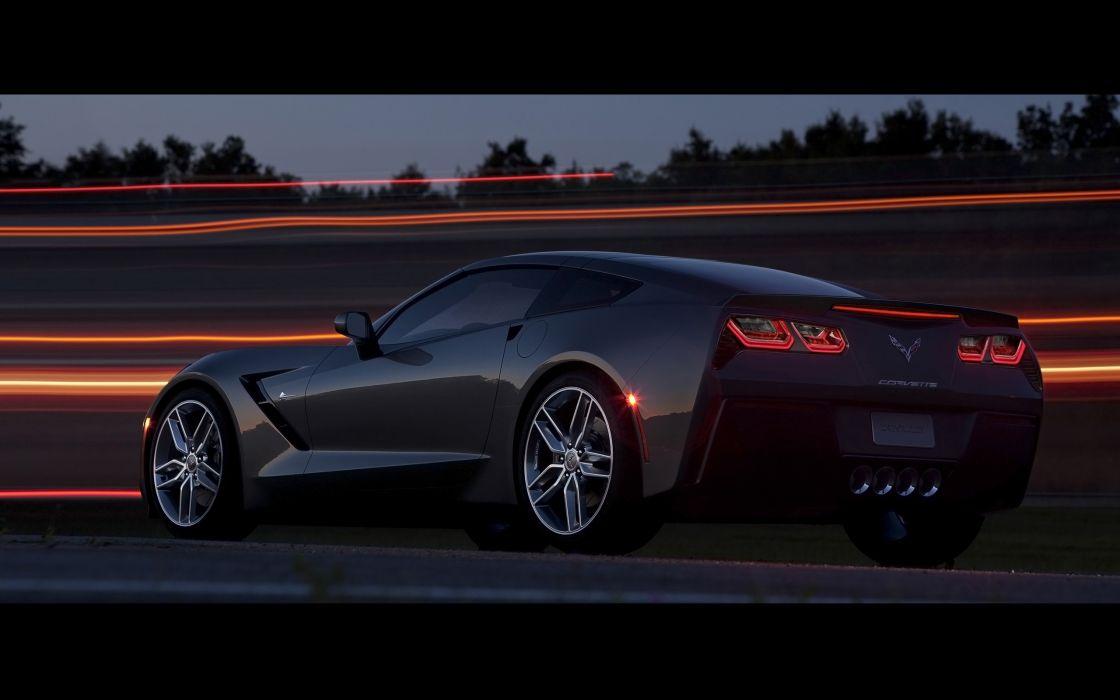 2014 Chevrolet Corvette Stingray supercar muscle   j wallpaper