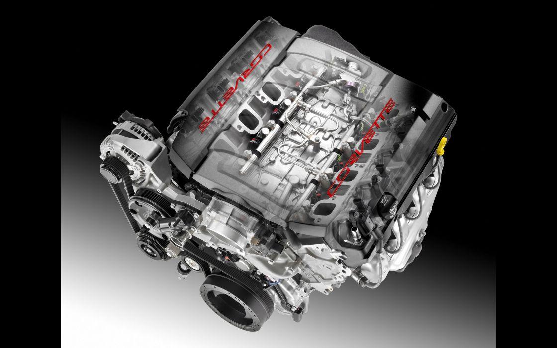 2014 Chevrolet Corvette Stingray supercar muscle engine   d wallpaper