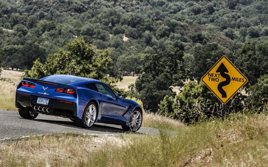 2014 Chevrolet Corvette Stingray supercar muscle  hd wallpaper