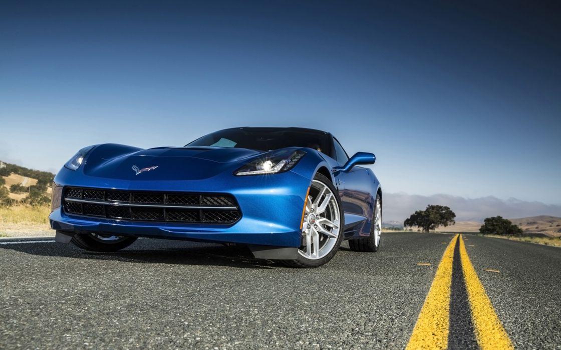2014 Chevrolet Corvette Stingray supercar muscle eg wallpaper