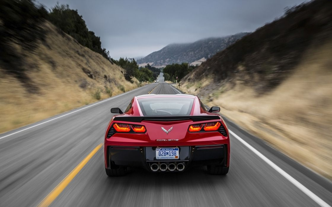 2014 Chevrolet Corvette Stingray supercar muscle s wallpaper