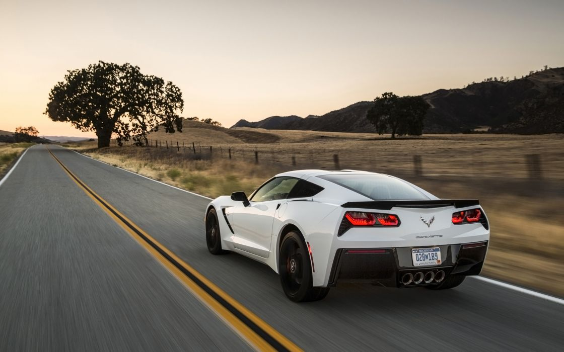 2014 Chevrolet Corvette Stingray supercar muscle sh wallpaper