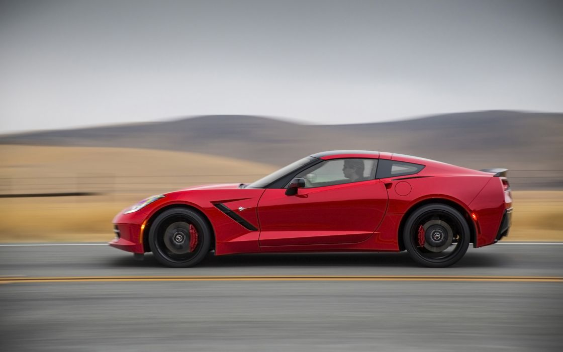 2014 Chevrolet Corvette Stingray supercar muscle da wallpaper