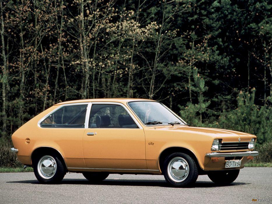 Opel Kadett Coupe 1975 wallpaper