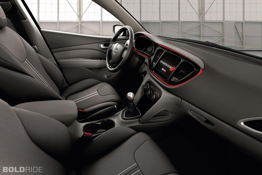 2014 Dodge Dart Blacktop interior  d wallpaper