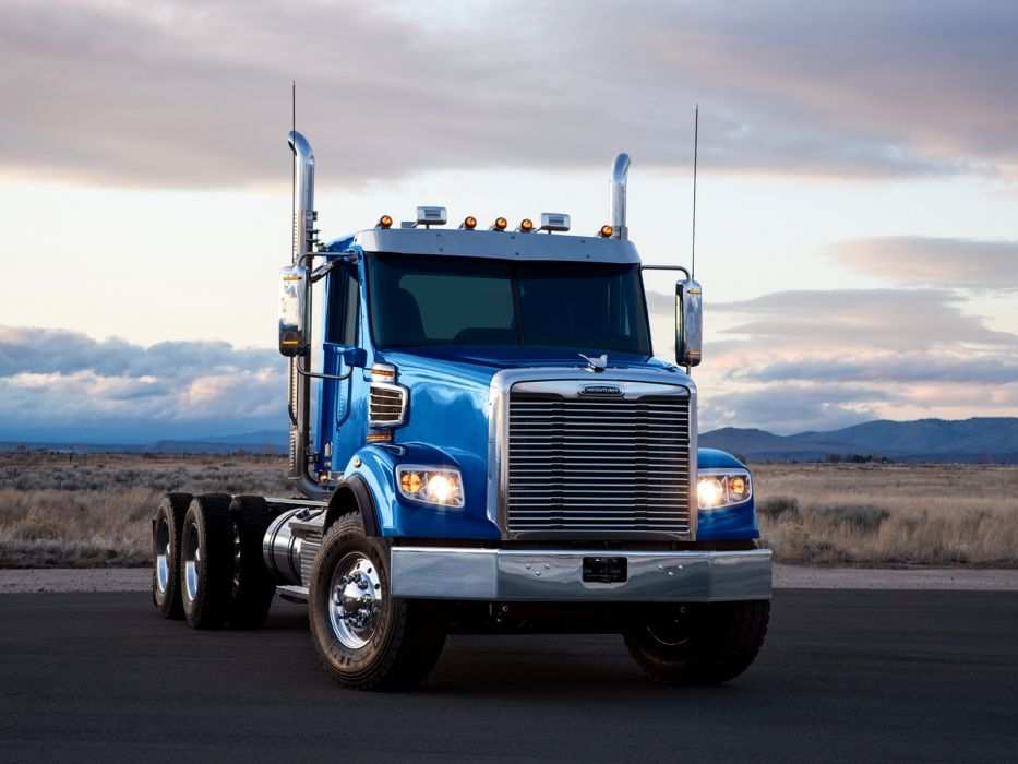2014 Freightliner 122SD semi tractor     g wallpaper