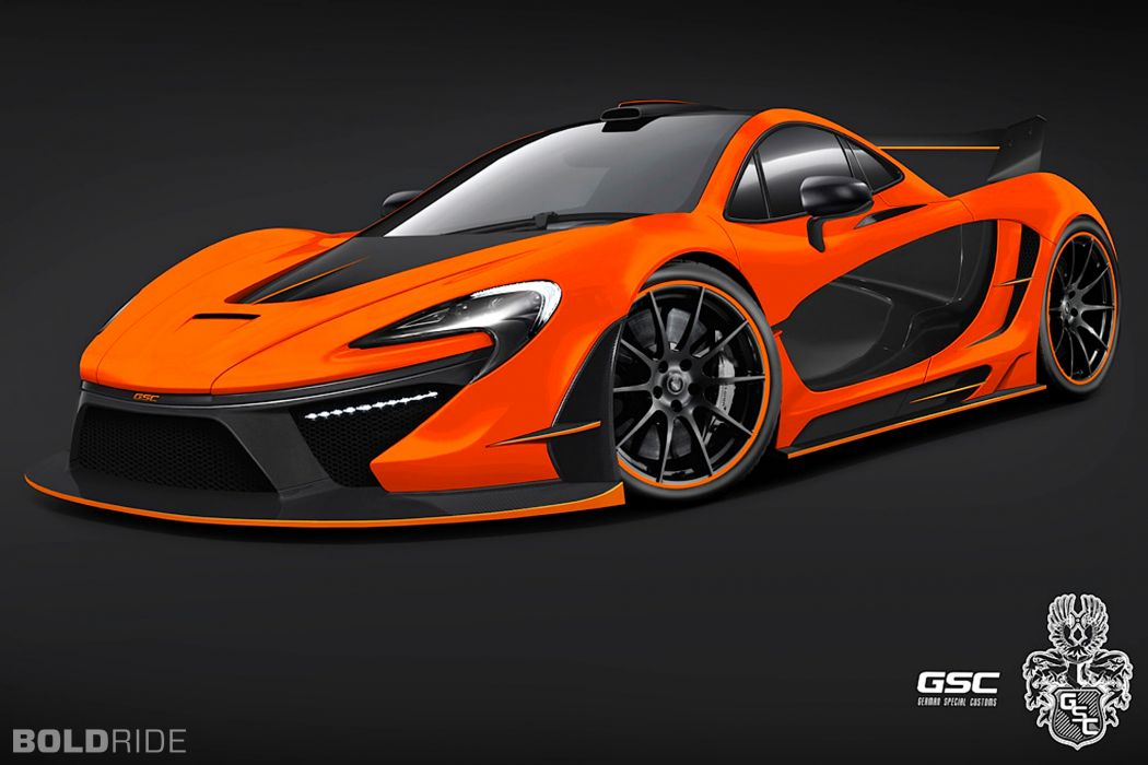 2014 German-Special-Customs McLaren P-1 Night Glow supercar tuning  e wallpaper