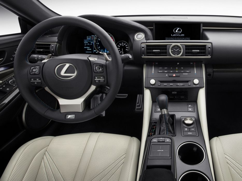 2014 Lexus RC-F interior    f wallpaper