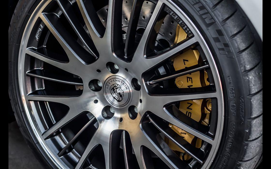 2014 Loewenstein Mercedes Benz C63 AMG LM63-700 Compressor stationwagon tuning wheel   g wallpaper