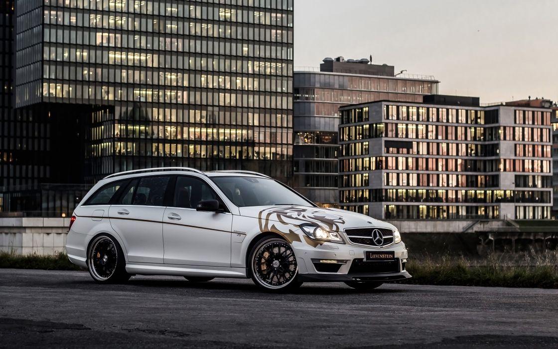 2014 Loewenstein Mercedes Benz C63 AMG LM63-700 Compressor stationwagon tuning   g wallpaper