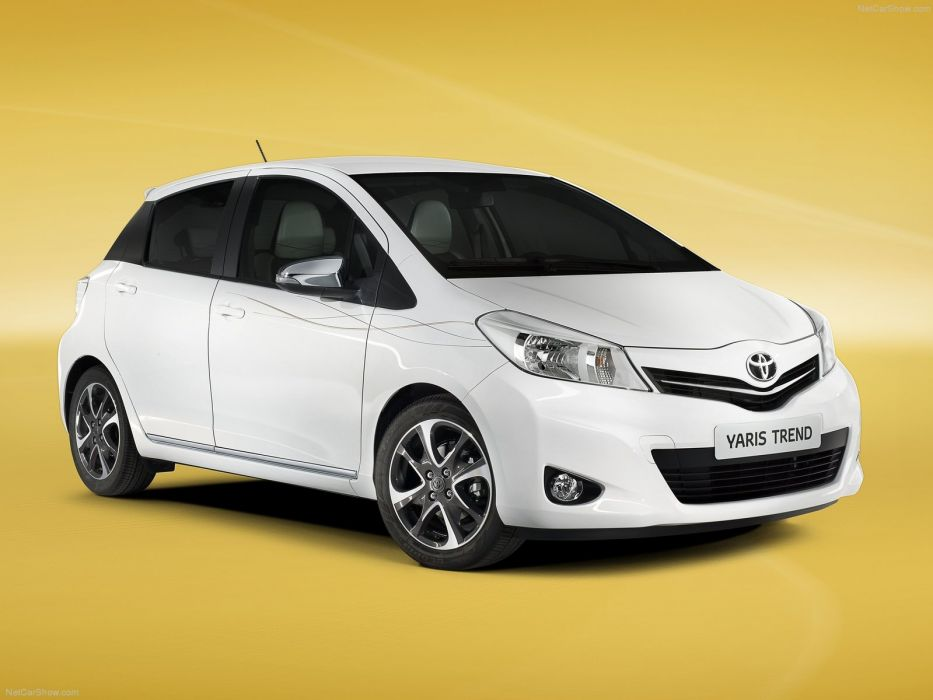 Toyota Yaris Trend 2013 wallpaper